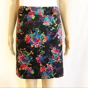 Laundry by Shelli Segal floral pencil skirt! Sz.4